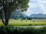 Golfanlage in Samedan, 2.5 km nahe