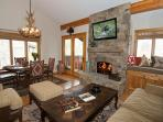 Contemporary Western condo tucked into the relaxed Aspens