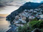 The villa's surroundings - Positano