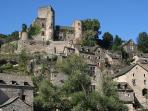 Belcastel. An ancient village with Michelin Star restaurant and great riverside with picnic tables