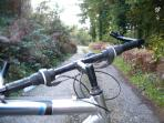 Great cycling walking  paths surround us see on website wwwoldgrainstorecottages.ie