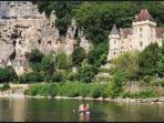 Try canoeing gently down the Dordogne