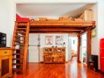 Living room and mezzanine