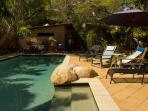 Morning Laps in the Cool Deep Pool or Laze by the Pool in the lounges.