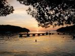 Famous Cavtat sunset