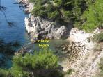 Nudist beach in Zaton