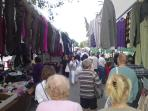 Tuesday and Saturday Markets in Los Alcazares. 10 Min walk from the apartment.
