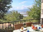 breakfast on the veranda