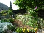 Jardin, côté ouest
