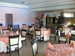 Enjoy breakfast, lunch dinner in Pizzo Beach Club restaurant