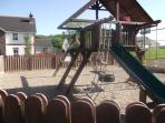 Children's playground for residents.
