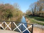 The Stratford upon Avon Canal - Wilmcote
