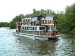 Trip Boat from Wroxham available within a few minutes walk