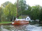 Traditional Norfolk Wherry