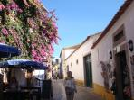 lots of little shops,cafes, in the Castle, nice to visit!! oBidos Castle only 15minutes drive!