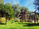Parque infantil. Zonas comunes