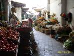 but it is fun to buy fresh fruit from the medina, or even...