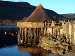 Neighbouring the Scottish Crannog Centre