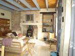 Open plan lounge/diningroom/kitchen