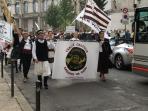 Annual Celtic parade Angoulême