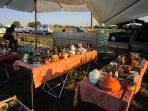 Brocante, Mont Jean.  Five minutes away from Villiers Le Roux