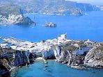 The island of Ponza, beauty and crystal waters at 1h via jetfoil
