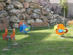 childrens play area within grounds