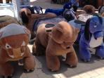 La Zenia shopping centre - the children love these!