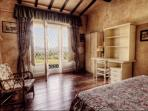 Ground Floor Bedroom with private access to the Garden