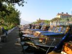 Calis water taxis, a nice ride to Fethiye