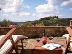 Relax and enjoy Tuscany.