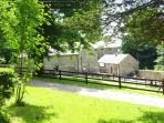 Mill Farm Cottages - view from Mill House