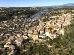 Biot village - 5 minutes drive away