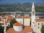 Budva Old Town....15 mins walk from Apartment