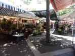 Flowers/Fruits and Vegetable Markets on Cours Saleya, 30m away