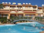 Guests love the 18 metre long swimming pool at Peyia Paradise