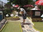 Crazy golf in Torrevieja