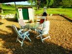 Enjoy an evening on the terrace