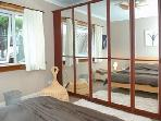 Large spacious double bedroom down stairs with great mirrored wardrobe space