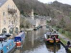 Hebden Bridge Marina - hire a barge for a brilliant day out