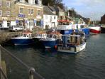 Harbour less than 7 mins away