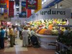 Denia market for fresh food and community spirit