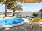 Laze the day away in the Ibiza sunshine by your own private pool