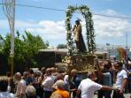 Religious Festival at Monasterace village