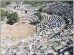 The amphitheatre at Kaunos (just on the other side of the river)