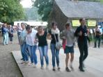 Annual Summer festival at Abbaye Bon Repos