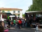 Every Wednesday and Saturday morning Markets in Lucca.