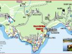 Map - Villa Central Varenna