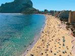 Levante beach-5 minutes walk