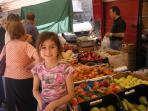 San Gimignano Farmers' Market every Saturday morning